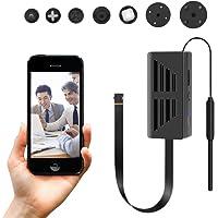 Mini WiFi Hidden Camera,HD 1080P IP Wireless Spy Nanny Covert Camera Home/Office Security Camera iPhone/Android Phone/iPad