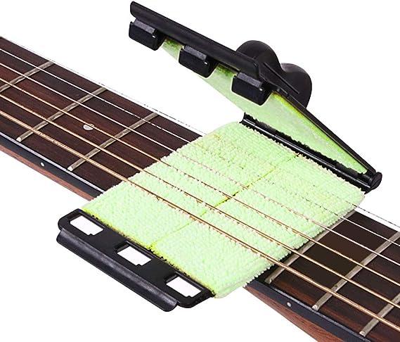 FAVENGO Limpiador Cuerdas Guitarra Electrica Limpiar Guitarra ...