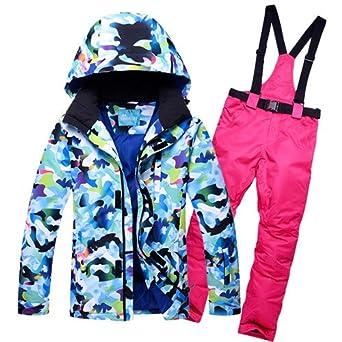 LEIT YFF Los Hombres Traje Chaqueta pantalón de esquí ...