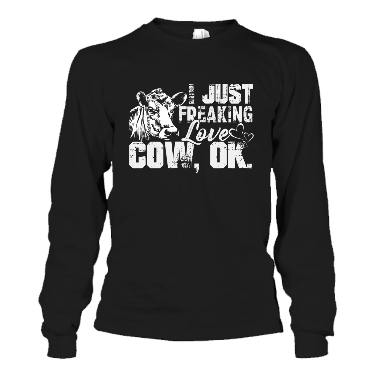 Ok Cool T Shirts Design I Just Freaking Love Cow Cow T-Shirt