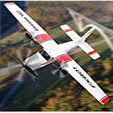 RC Plane 2.4Ghz 2 Channels RTF RC Airplane, RC Aircraft with 3-Axis Gyro for Beginner Easy to Fly EPP Glider Toys (Wingspan 3