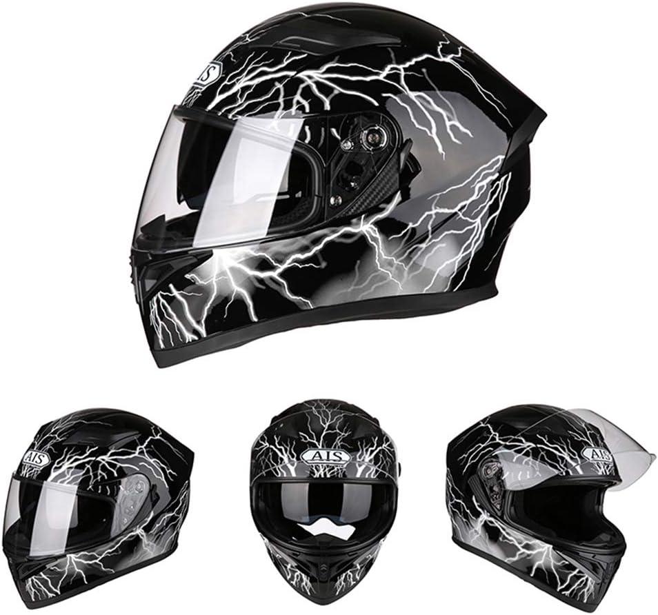 KuaiKeSport Cross Motocross Integralhelm mit Bluetooth,ECE Zertifiziert-Herren Offroad Motocross Helm mit Anti Fog Lenses,Off Road Helm Motorradhelm Cross Helme Schutzhelm Helm f/ür M/änner Damen