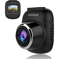 Jeemak Dash Cam 1080P Mini Car Camera w/Wide Angle Lens