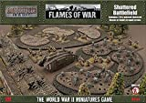 Shattered Battlefield 10-15mm Scale - Fully Painted - Figure - Flames of War