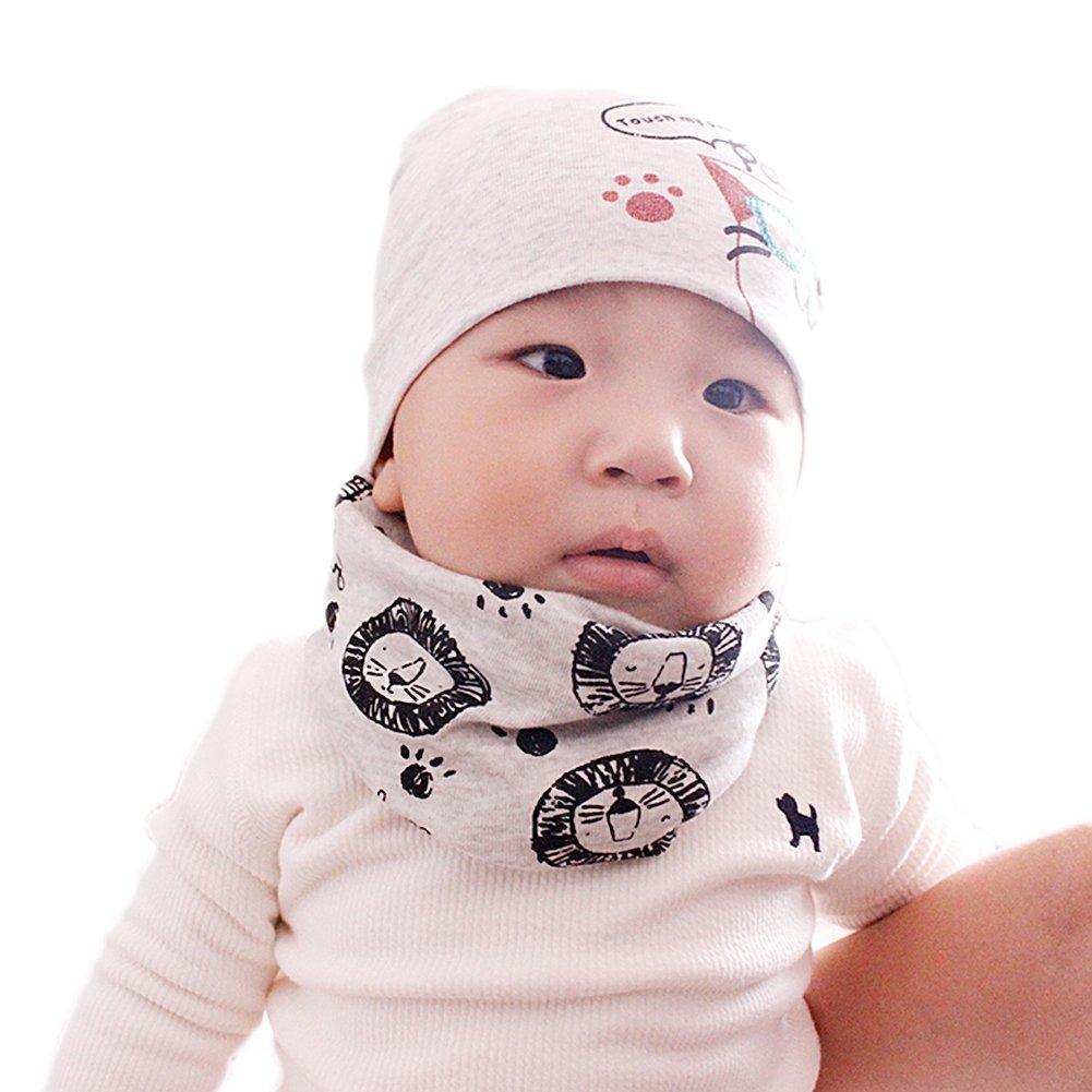 Fletion Kinder Jungen M/ädchen Winter Warme Baumwolle Schals Unisex Baby Baumwollschals Rundschal Loop Halstuch Hals w/ärmer EINWEG Verpackung