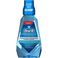 Oral-B Pro-Health Multi Protection Anti-Plaque Mouth Rinse, Refreshing Mint, 1000ml
