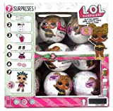 LOL Surprise Case of 18 Glitter Series 1 Balls - 18 Dolls with Display Case