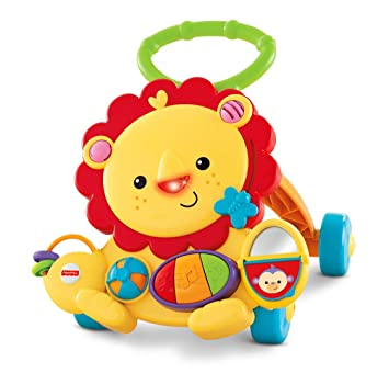 Amazon.com: Fisher-Price musical Lion Walker, Estándar, Lion ...