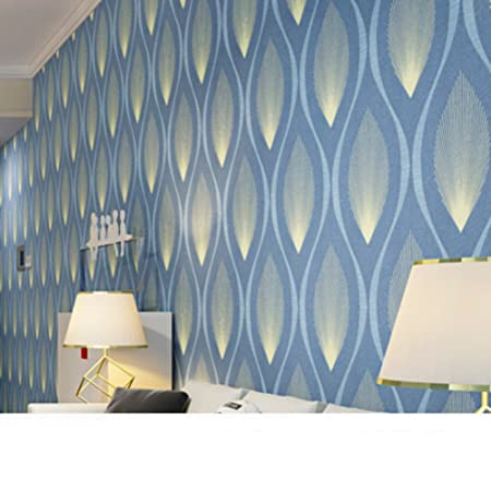 Simple And Modern Wallpaper Non Woven For Living Room 3dthree