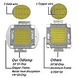 Odlamp Super Bright High Power LED Chip 50W SMD COB Light White 6000-6500k DC 30-34V for Emitter Components Diode 50 W Bulb Lamp Beads DIY Lighting