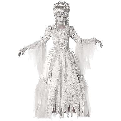 GSG Ghost Costume for Kids Girls Corpse Countess Halloween Fancy Dress  sc 1 st  Amazon.com & Amazon.com: GSG Ghost Costume for Kids Girls Corpse Countess ...