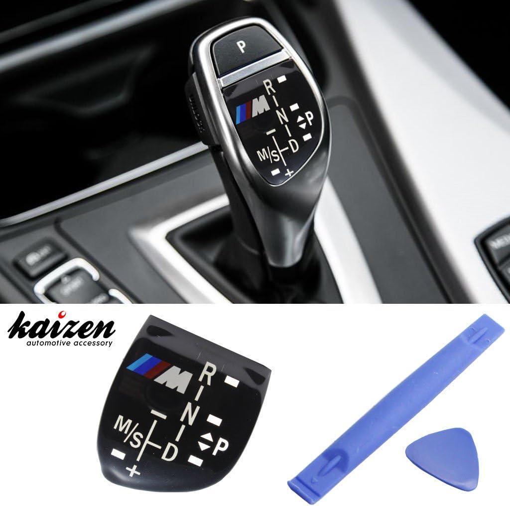 KESOTO Multimedia Steuerknopf Abdeckung Aufkleber Drehknopf F/ür BMW 1 2 3 4 5 X1 X3