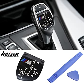 Kaizen Interior Automatic Gear Shifter Knob Panel ///M Style