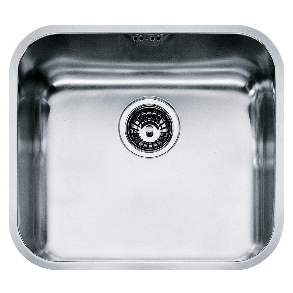 Franke 122.0021.440 GAX 110– 45 Soie é vier de cuisine en acier inoxydable avec cuve simple –  Gris