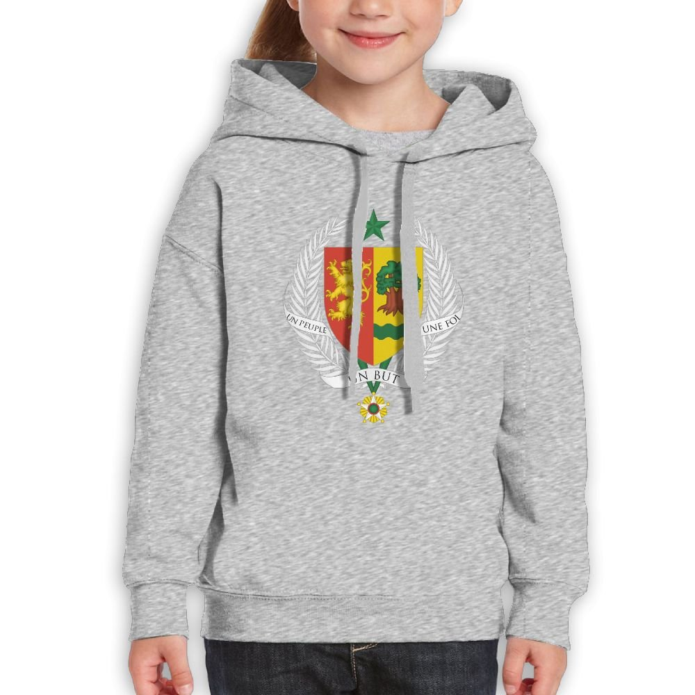 DTMN7 Coat Of Arms Of Senegal Cute Printed Long Sleeve Top For Kids Unisex Spring Autumn Winter