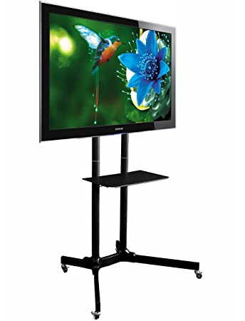 TT40 Mobile TV Floor Stand For 40 To 40 Amazonde Elektronik New Exhibition Tv Display Stands