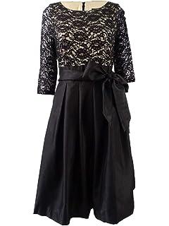 Jessica Howard Women S Sleeveless Inset Waist Dress At Amazon