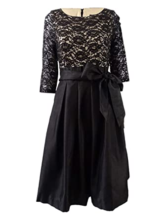 Jessica Howard Womens Sequined 3 4 Sleeve Special Occasion Dress At