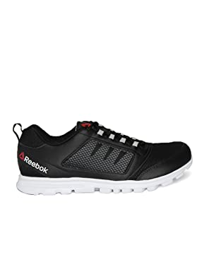 e67e8077fab Reebok Men Black Run Stormer Running Shoes (9UK)  Buy Online at Low Prices  in India - Amazon.in