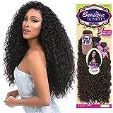 Sensationnel Human Hair Blend Weave Premium Too 3 Multi Bundles Boutique Deep (18'+20'+22') + 4' Deep Lace Parting (2)