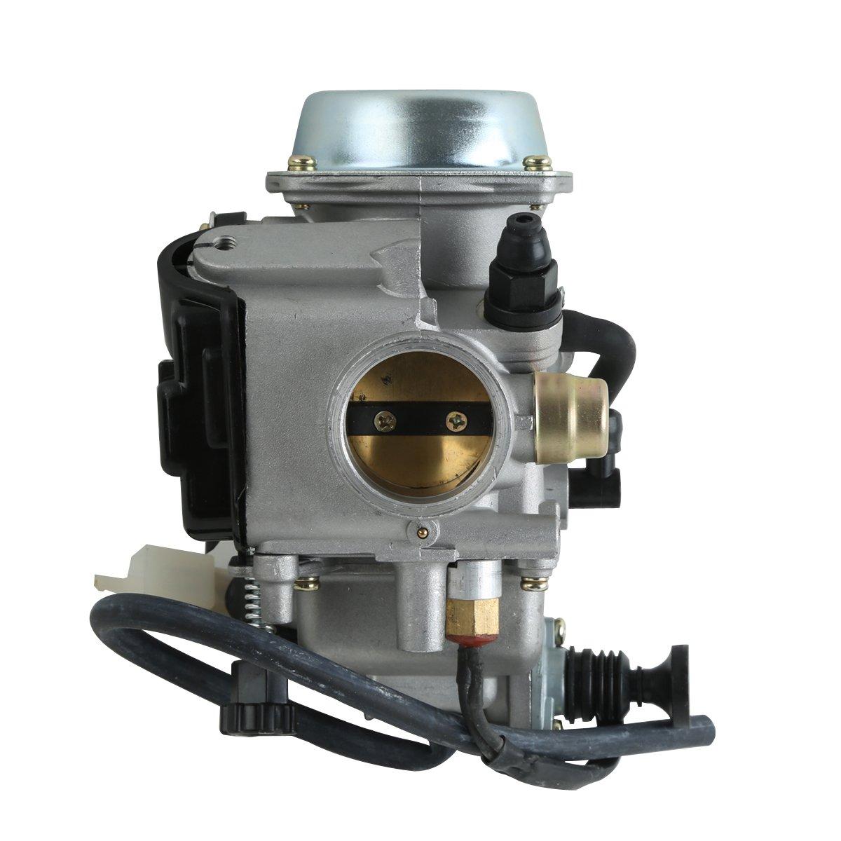 Tengchang Carburetor W/Sensor Carb Fit for Honda 400 FOURTRAX Fit forEMAN TRX400FW 1995-2003 ATV