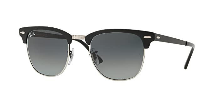 85c2894845 Amazon.com  Ray-Ban Clubmaster Metal Sunglasses