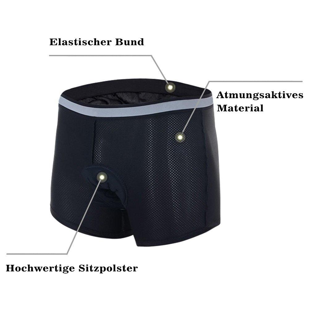 Speedspo - Culote para ciclistas, calidad profesional, para hombre, ropa interior, schwarz 6, large: Amazon.es: Deportes y aire libre