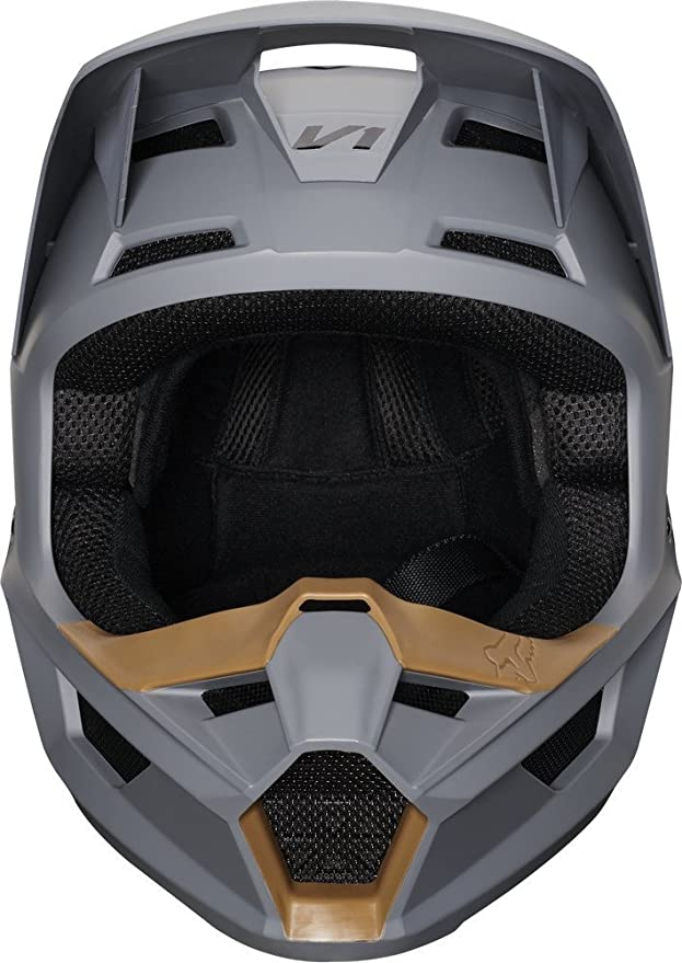 Amazon.com: Fox Racing 2019 V1 Helmet - Matte Stone (MEDIUM) (STONE): Automotive
