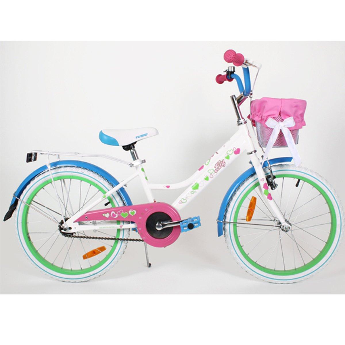 """20LILY-BLU Kinderfahrrad 20"""" Zoll Kinderrad Rad Bike Fahrrad Spielrad"""