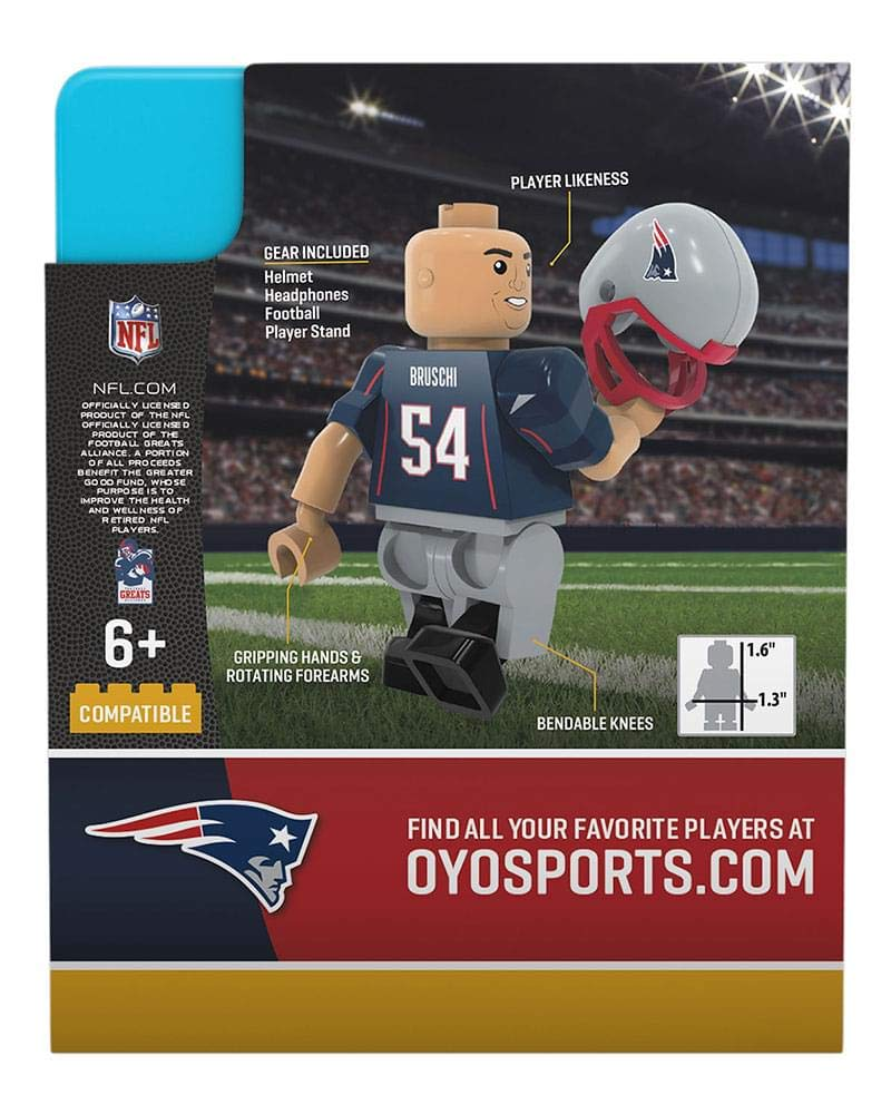 One Size Oyo Sportstoys NFL New England Patriots Sports Fan Bobble Head Toy Figures red White//Blue