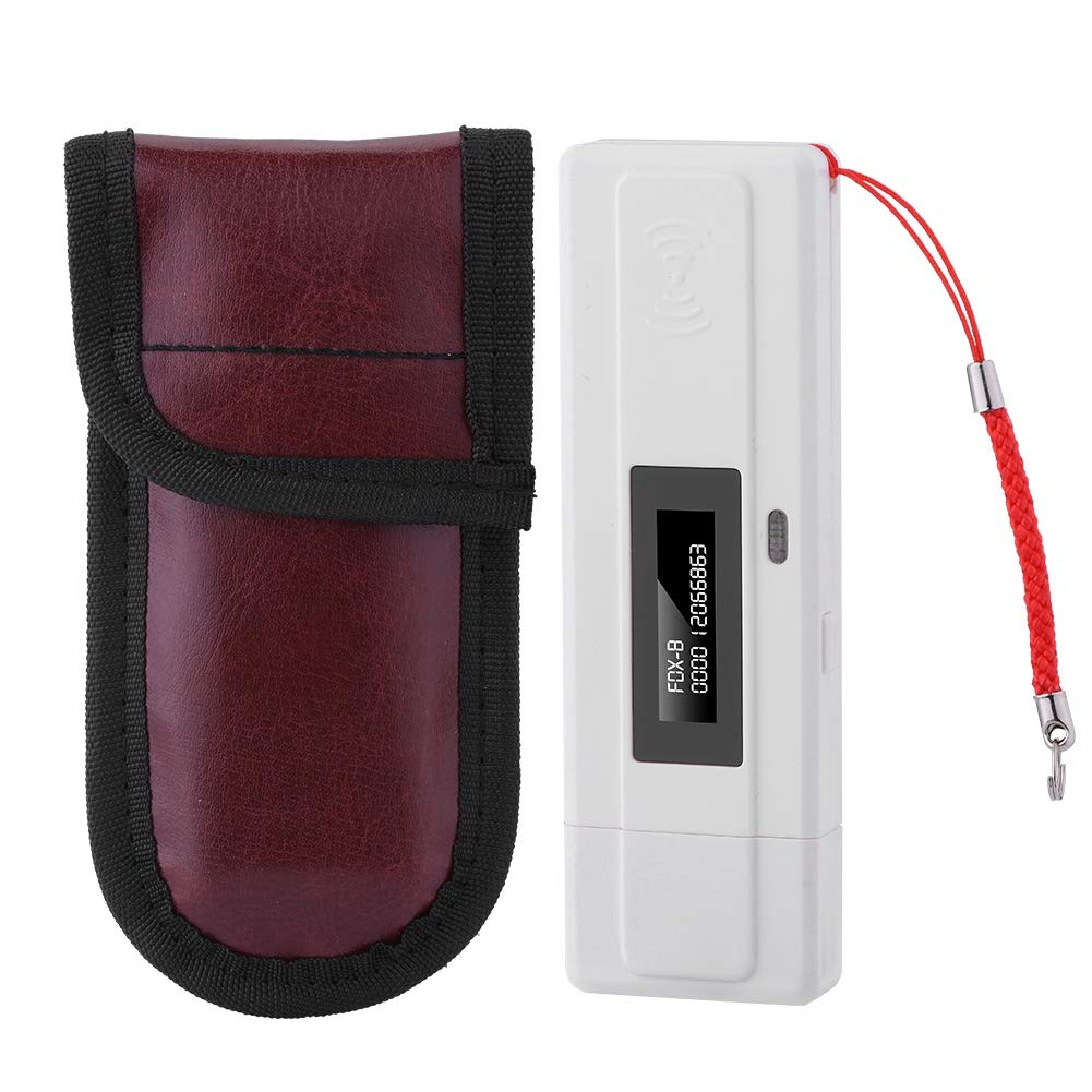 Microchip Scanner Portable Pet Tracking Finder RFID 134.2Khz Support ISO11784 / 11785 FDX-B and EMID, USB Charger