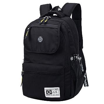Super Modern Unisex Nylon School Bag Waterproof Hiking Backpack ...