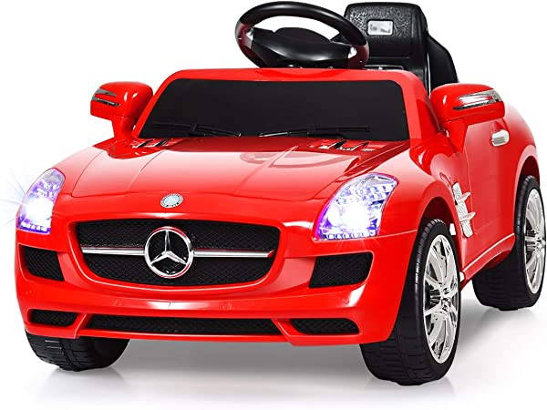 Sports Car Toy Self-propelled car 3D LED Electric Children Toy