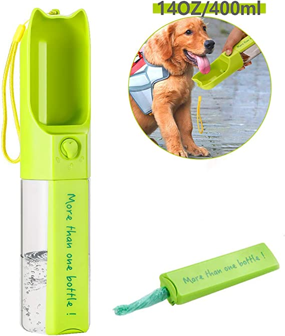 Petmii Dog Water Bottle BPA Free, 14 OZ
