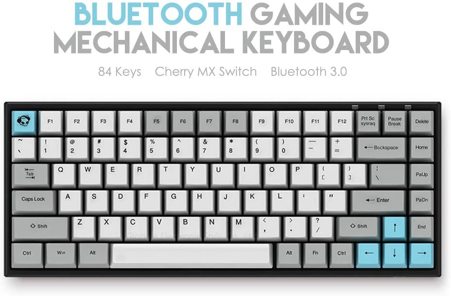 Lightweight and Quiet Keyboard Wireless Keyboard Portable Keyboard Triple Pad Easy to Use Receiver Longer Battery Life Suitable for Laptops