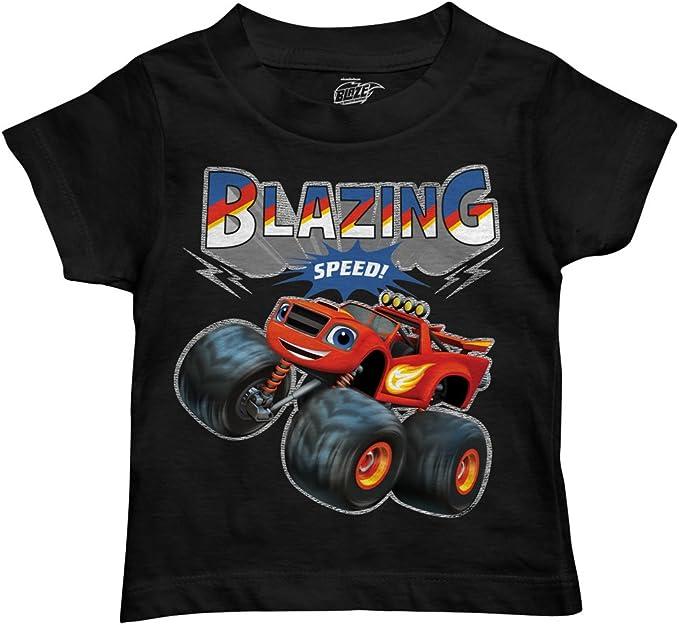 Amazon.com: Nickelodeon Boys Blaze T-Shirt: Clothing