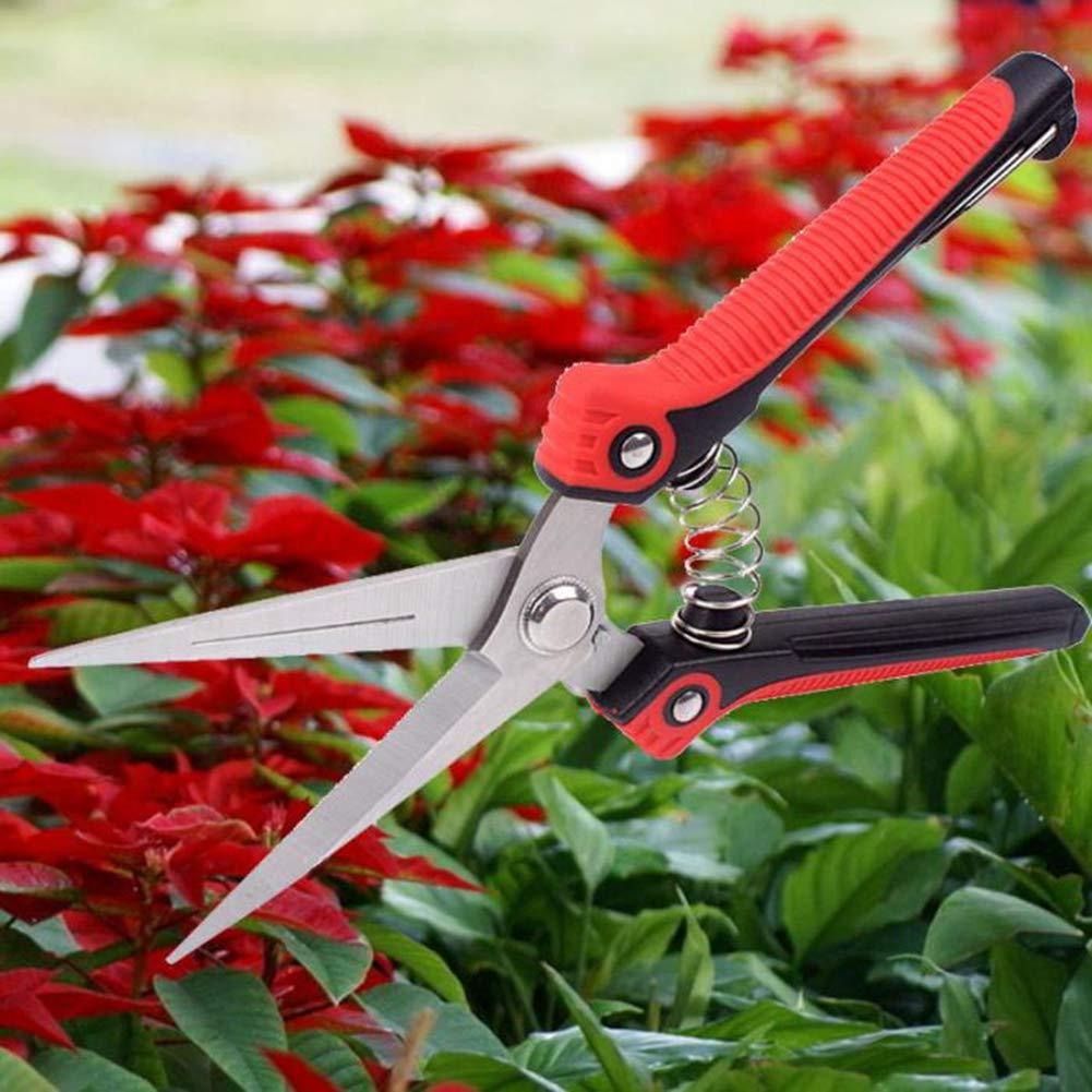 KATUR Pruning Bypass Pruner Garden Shears,Tree Trimmer Sharp Hand Secateurs Gardening Tool for Effortless Cuts