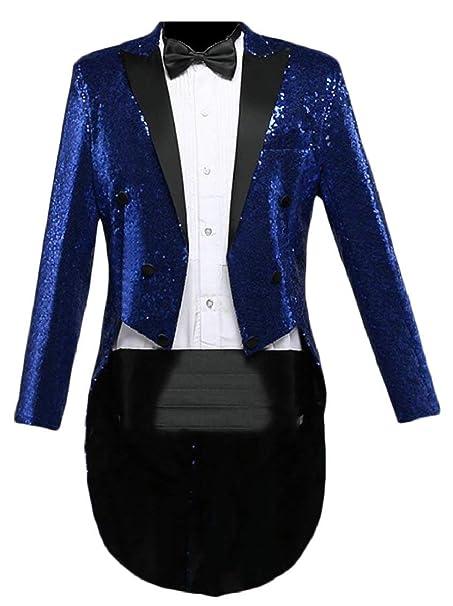 Blazer Blazer para Hombres Elegante Smoking Slim Ropa Fit ...