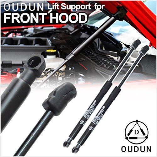Nissan Armada Fuel (VioGi Brand New 2pcs Front Hood Bonnet Charged Lift Support Struts Shock Gas Spring Springs Fit Nissan 2005-2015 Armada / 2004-2015 Titan / 2016 Titan XD)