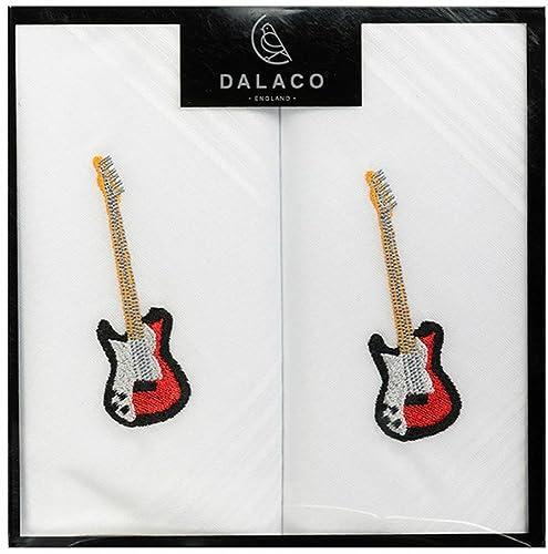 Pañuelos blancos de la guitarra eléctrica de Dalaco: Amazon.es: Zapatos y complementos