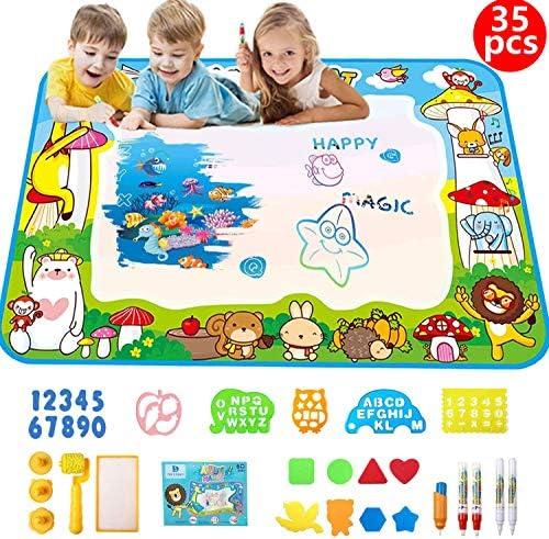[スポンサー プロダクト]お絵かきシート お絵かき 水で描く おもちゃ 子供 知育玩具 おえかき ぬりえ カラフルシート 人気 女の子 男の子 おもちゃ 子供 誕生日 プレゼント 100 * 70㎝