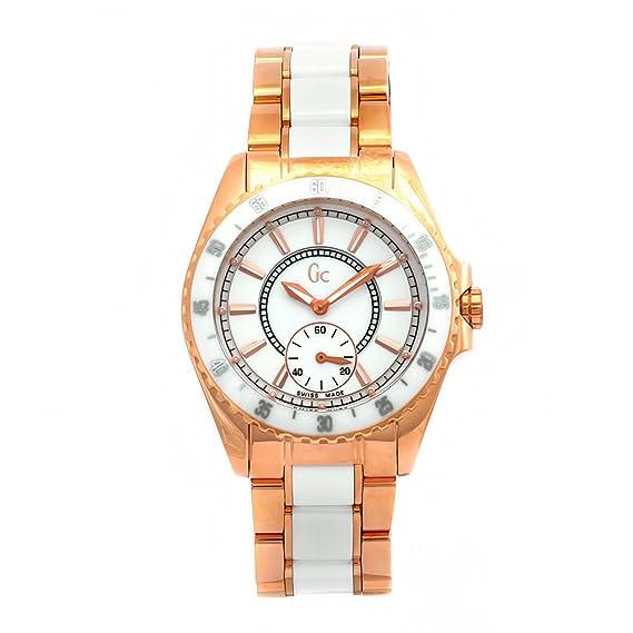 Guess Collection GC Sport Class Lady 47003L1 - Reloj analógico de mujer de cuarzo con correa