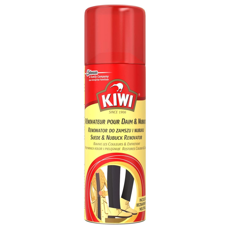 Kiwi Rénovateur pour Daim & Nubuck Noir 200 ml - Lot de 3 666875