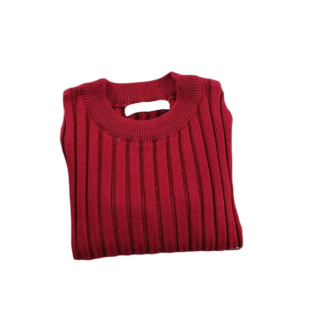 Etecredpow Girl Knit Cute Pullover Comfortable Warm Jumper Sweater