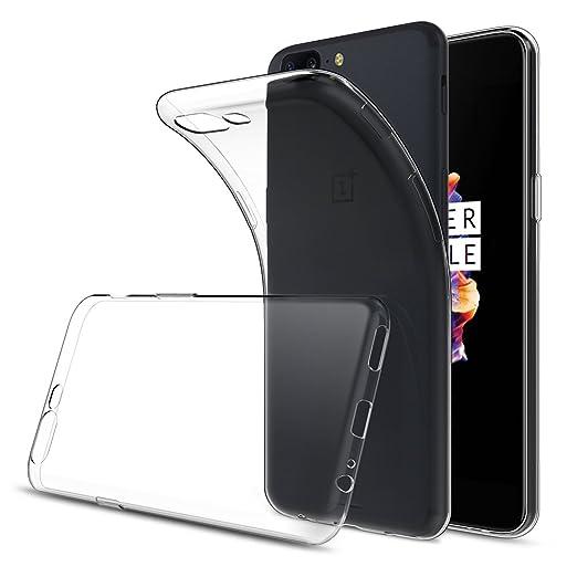 2 opinioni per OnePlus 5 Cover Custodia (Spesso 0.9mm),Simpeak Custodia Chiaro Cristallo Liquid