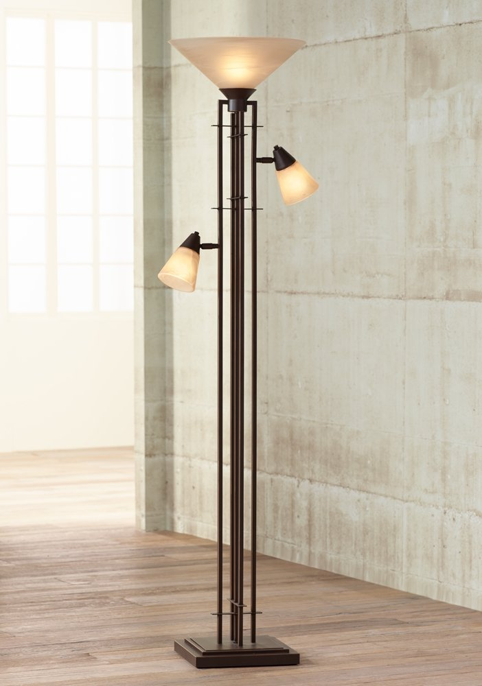 - Metro Collection 3-in-1 Torchiere Floor Lamp - - Amazon.com