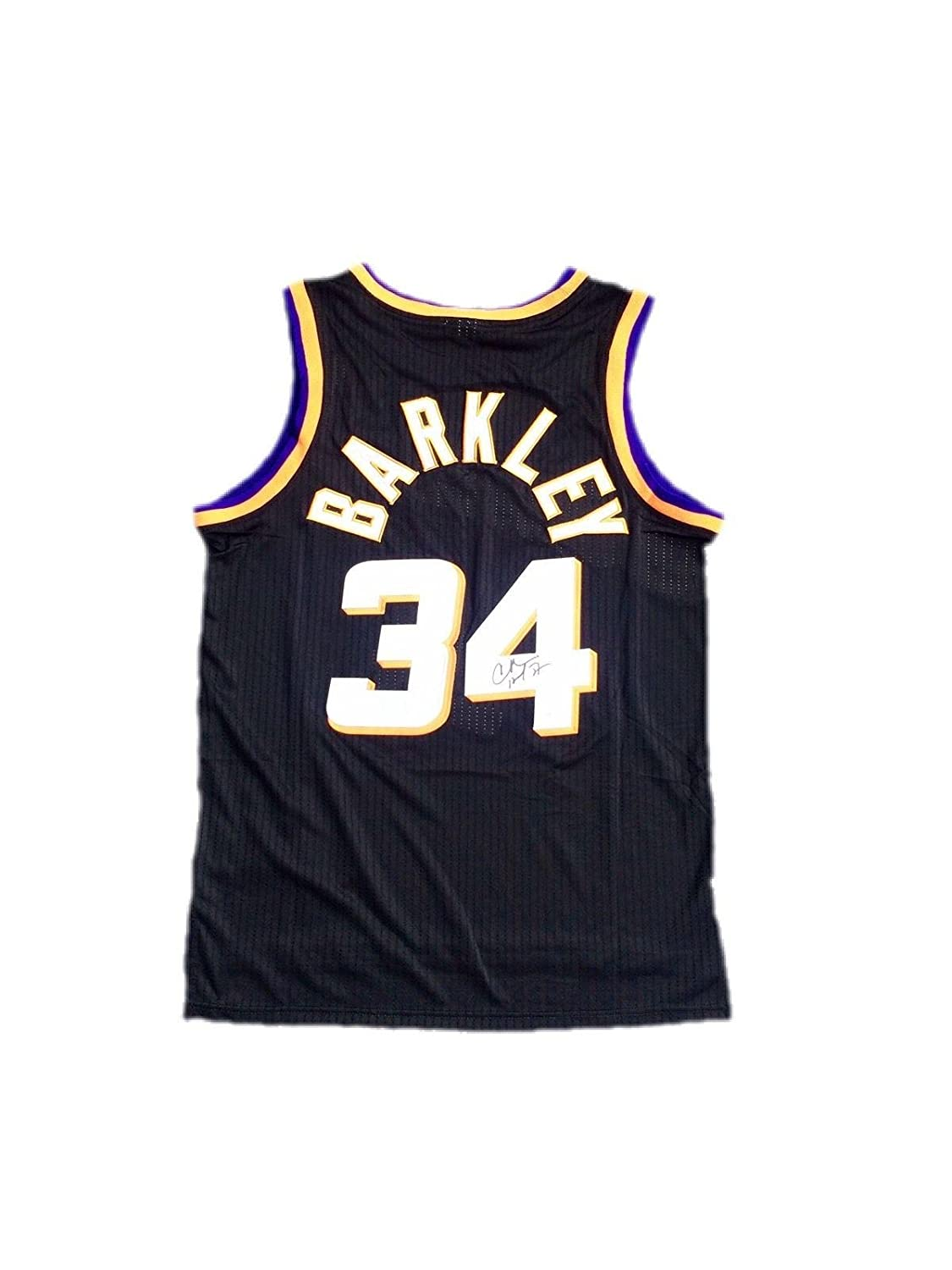 buy online b0329 ef186 Autographed Charles Barkley Jersey - Alternate Black - JSA ...