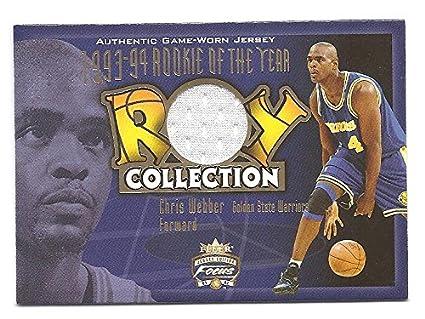 premium selection f2d63 ceb41 CHRIS WEBBER 2001-02 Fleer Focus ROY Collection #CW GAME ...