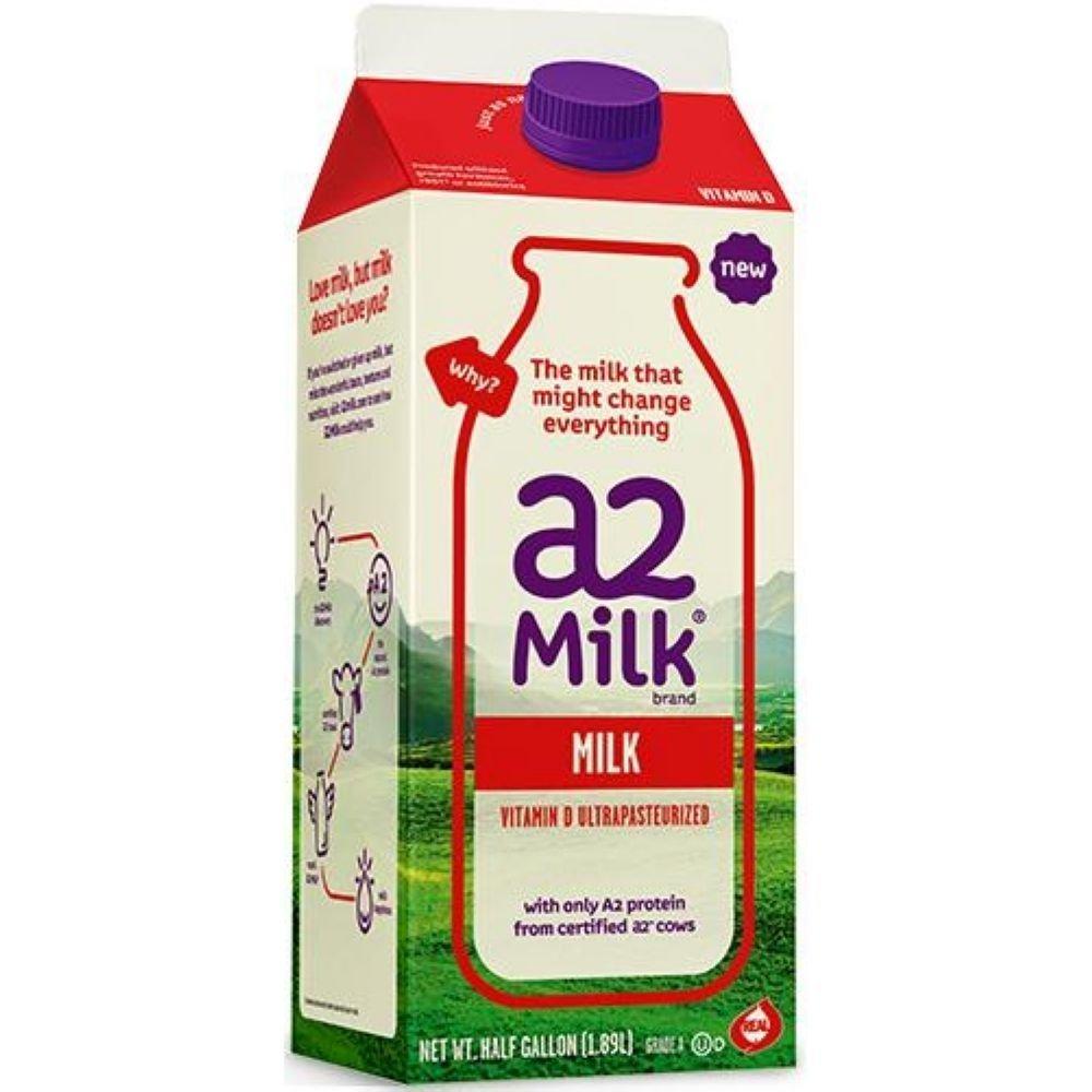 Amazon A2 Milk Ultra Heat Pasteurized Whole 64 Fluid Ounce 6 Per Case Grocery Gourmet Food