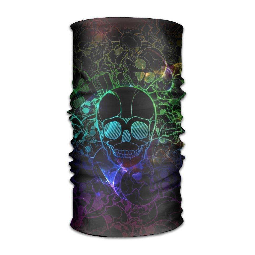 Magic Headwear Skull Pattern Outdoor Scarf Headbands Bandana Mask Neck Gaiter Head Wrap Mask Sweatband